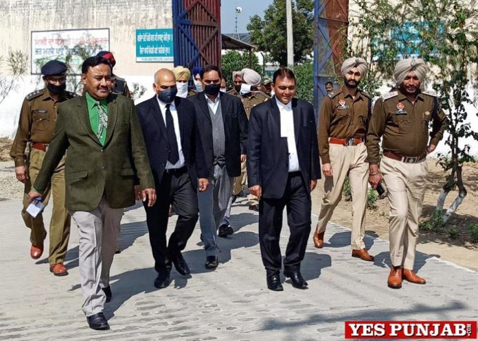 Sessions Judge CJM surprise visit Kapurthala Central Jail