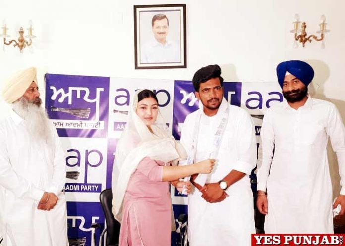 Arsh Umriana joins AAP