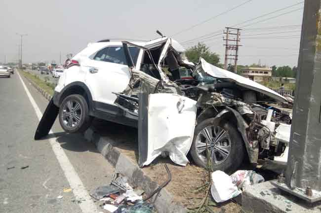Accident Moga man killed