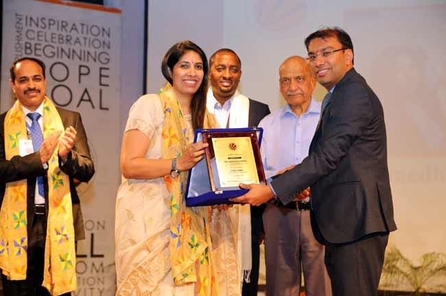Aman Mittal honoring HR Summit at LPU