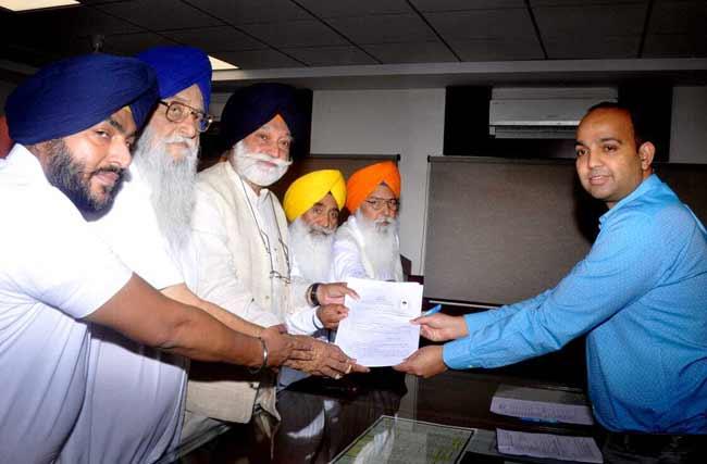 Bir Devinder singh nomination from Anandpur Sahib