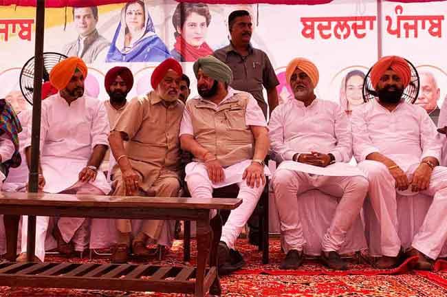 Capt Amarinder Fatehgarh Sahib Rally