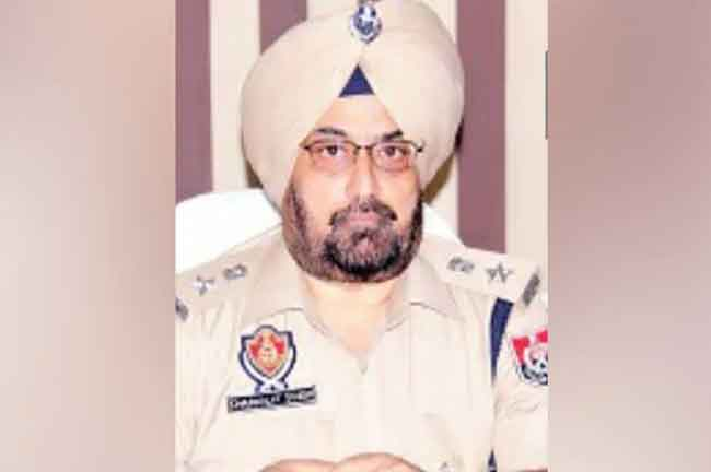 Charanjit Singh Sharma SSP