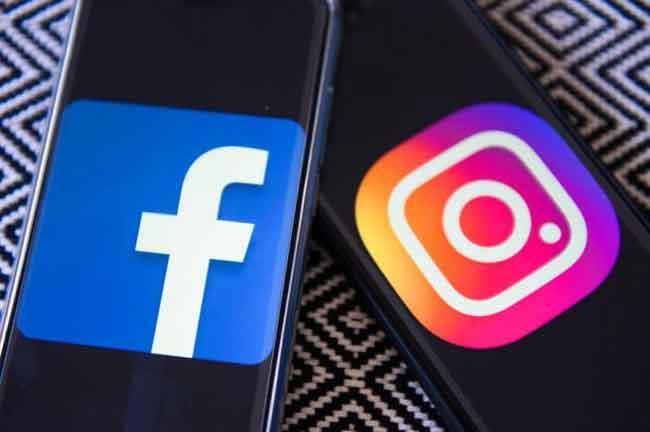 Facebook Instagram Smartphone