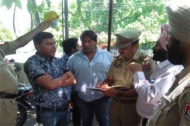 Jalandhar Police Seize Cash