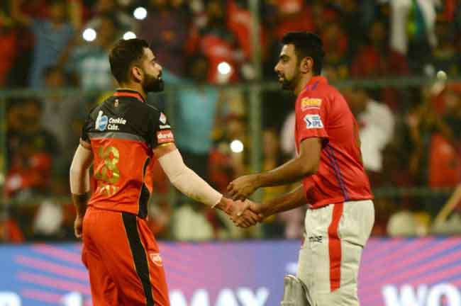 Kohli Ashwin IPL