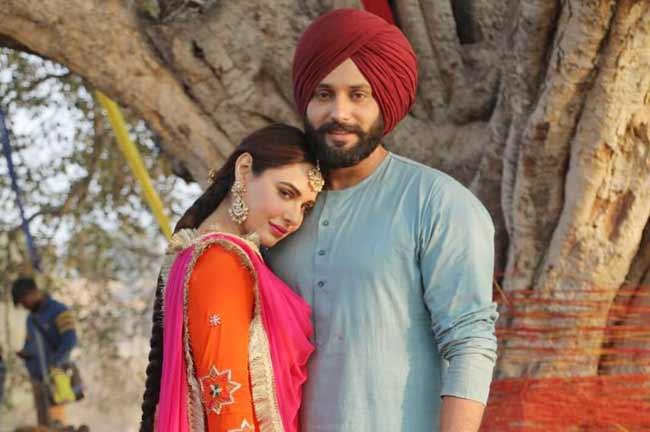 Mandy Takhar with Jobanpreet Singh