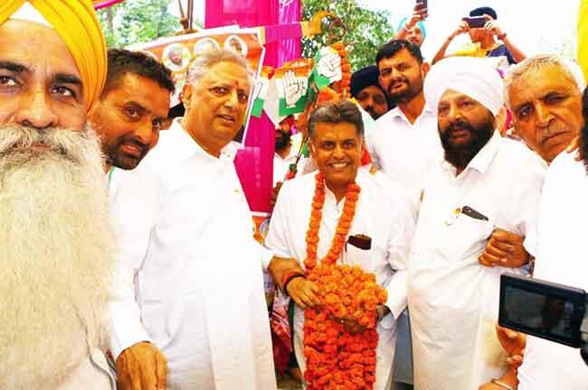 Manish Tiwari Worker Meeting Anandpur