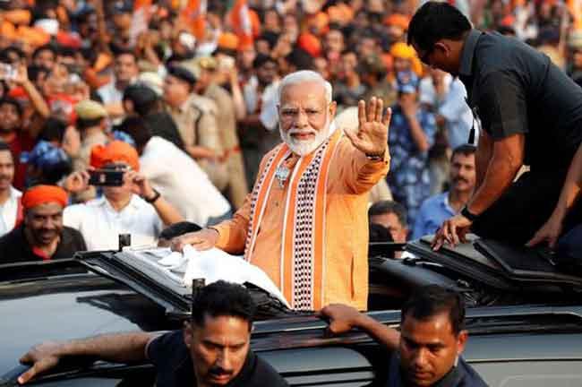 Modi Varanasi Roadshow