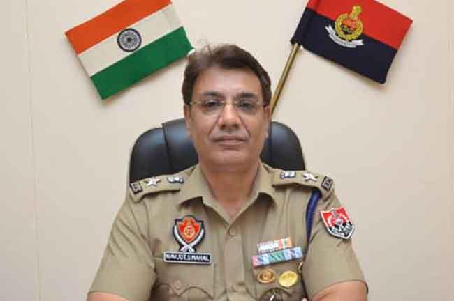 Navjot Singh Mahal IPS