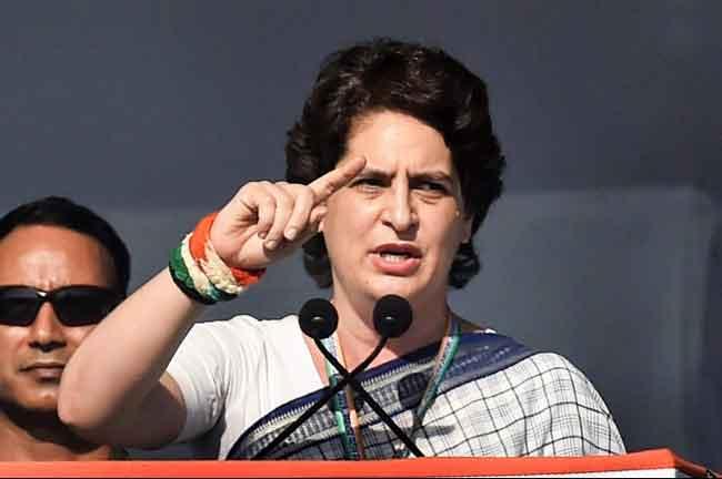 Priyanka Gandhi Speaking