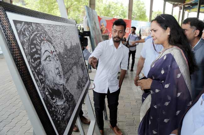 RashmiMittal Annual Graduation Project Expo 2019 at LPU