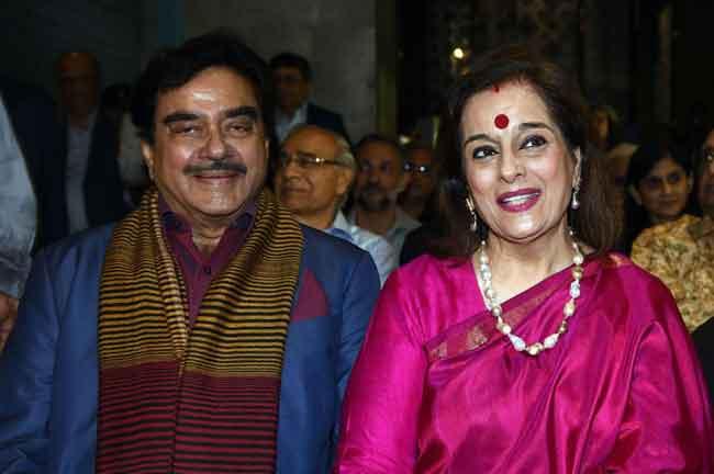 Shatrugan Sinha Poonam Sinha