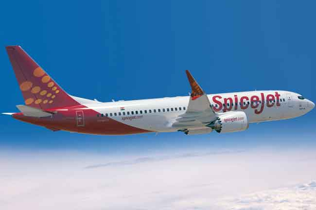 SpiceJet Plane
