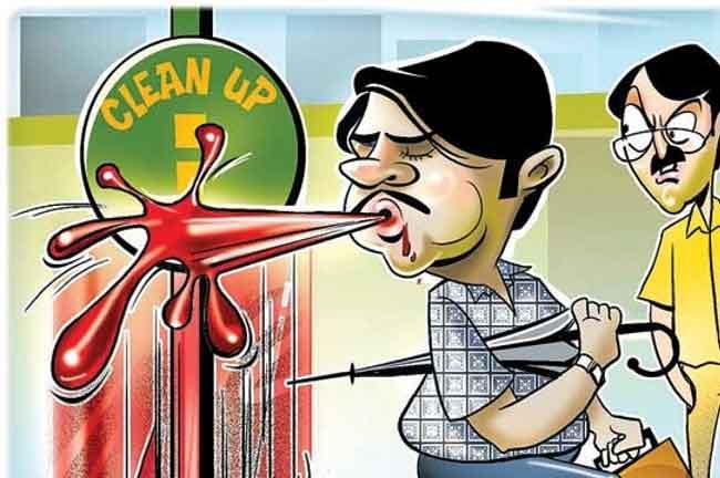 Spitting Pan Cartoon