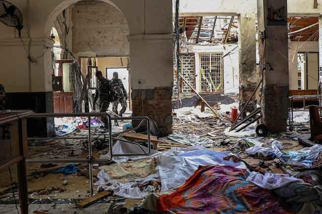 Sri Lanka Blast Toll