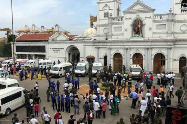 Sri Lanka Bombing Church