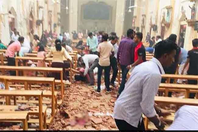 Sri Lanka Church Blast
