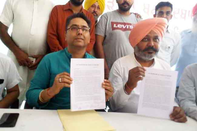 AAP MLAs Letter to Pbis