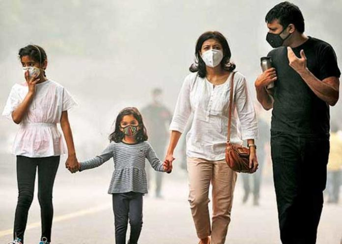 Air Pollution Family India