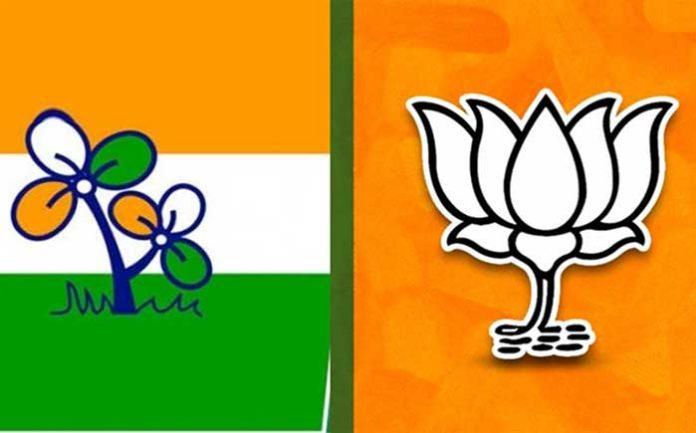 BJP TMC Logo