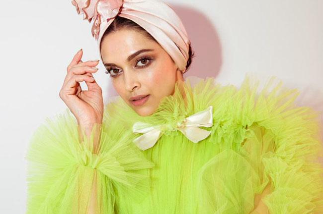 Deepika Padukone Green Cannes