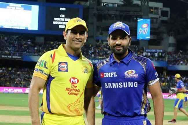 Dhoni Rohit Sharma IPL