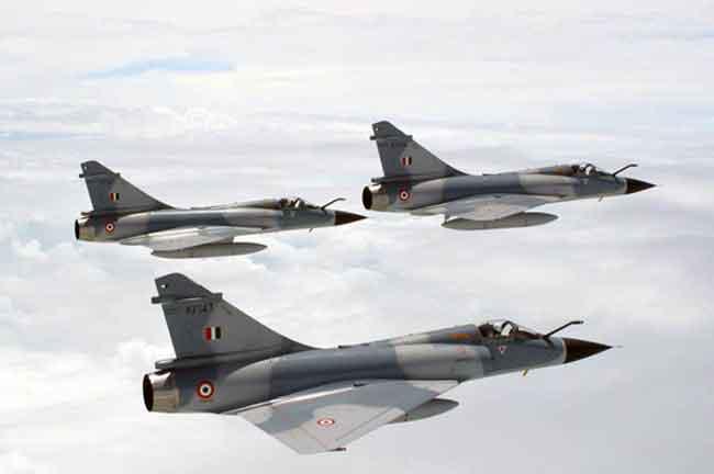 IAF Mirage 2000 Jets