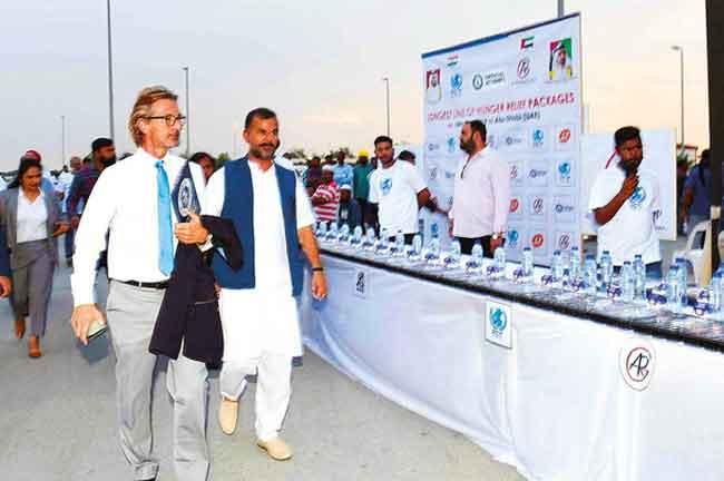 Joginder Singh Salaria Iftar Dubai