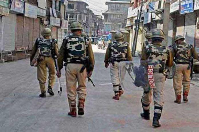 Kashmir Curfew 1