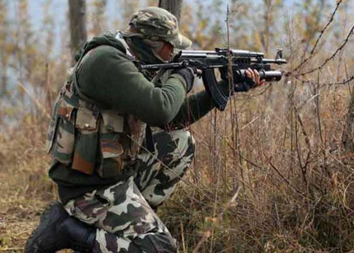 Kashmir Gunfight 1