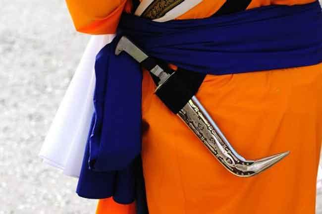 Kirpan Wearing Sikh
