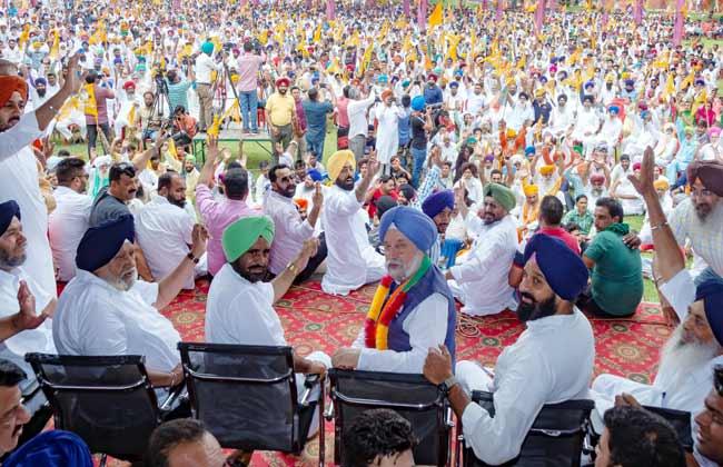 Majithia Elections rally