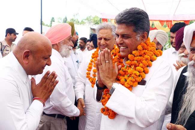 Manish Tewari Anandpur Sahib
