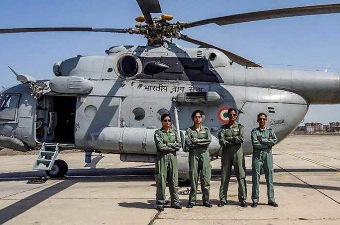 Mi 17 IAF Women Crew