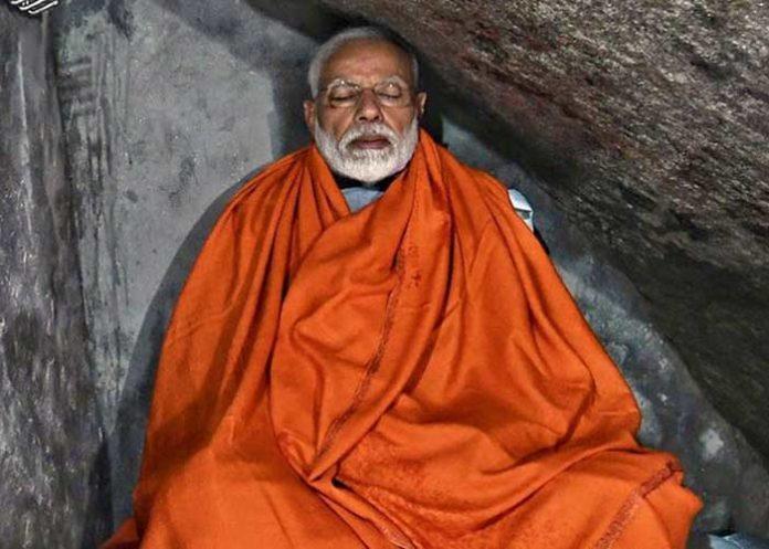 Modi Kedarnath cave Meditation 1