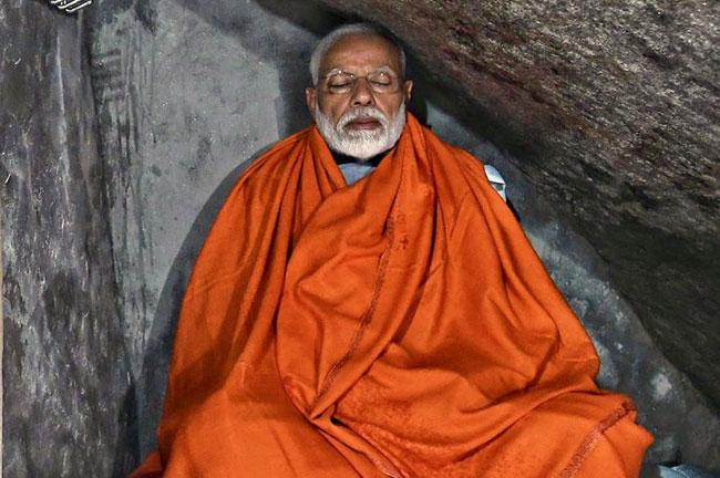 Modi Kedarnath cave Meditation