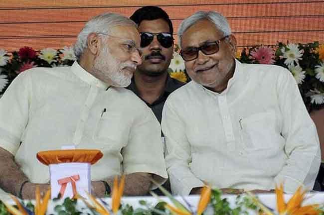 Modi Nitish Kumar