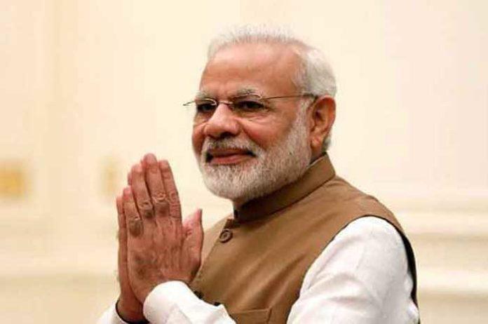 Narendra Modi Namaste Hand