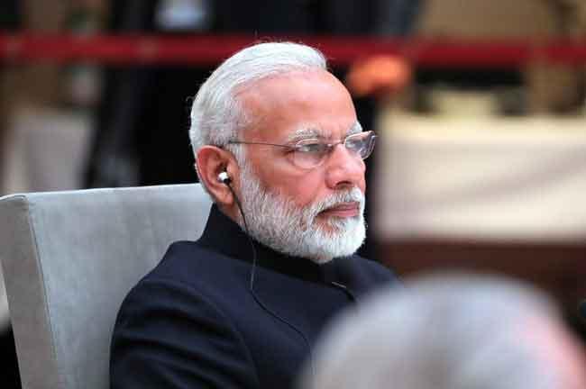Narendra Modi Side View