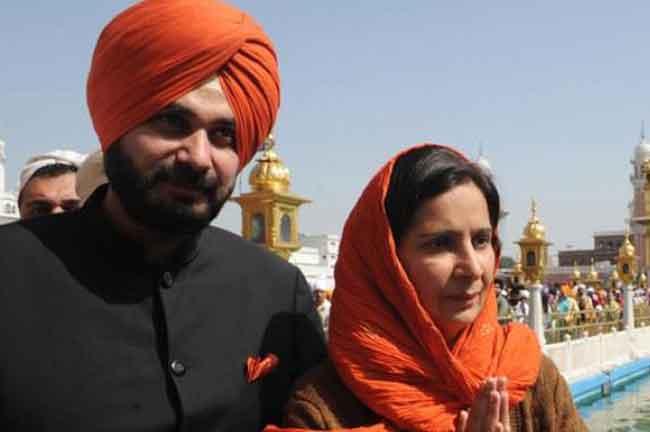 Navjot Sidhu Wife Navjot Kaur