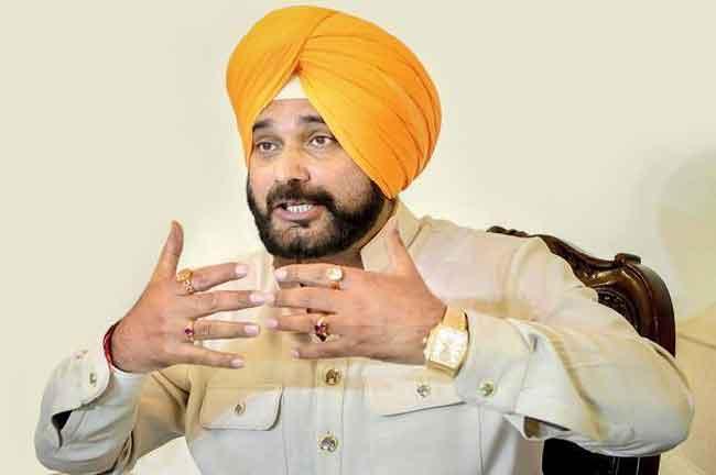 Navjot Singh Sidhu calls BJP