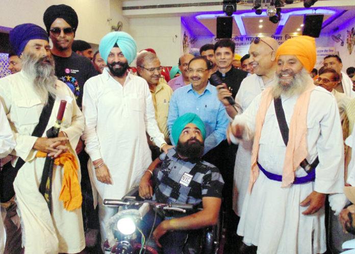 Parminder Pinki Chander Gaind inaugurate Aid Distribution Camp