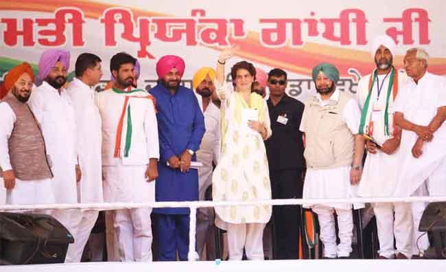 Priyanka Sidhu Rally at Bathinda