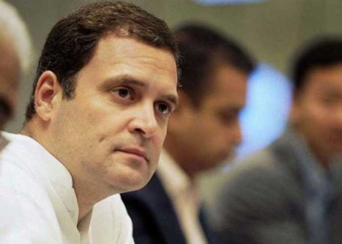 Rahul Gandhi Side View