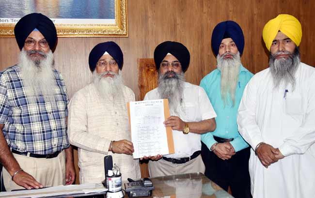 SGPC release religious exam result