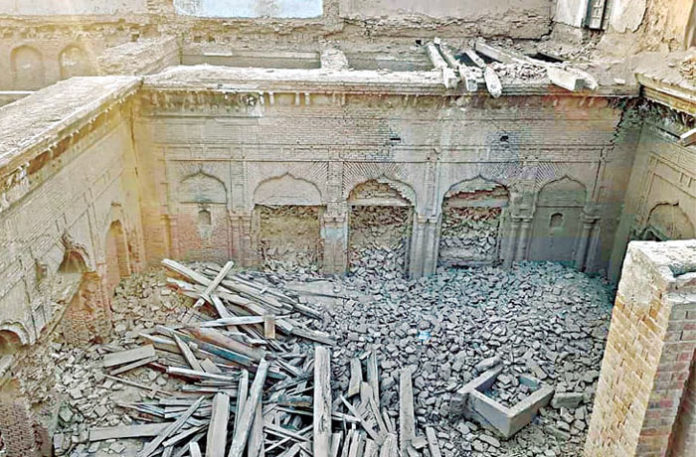 Sikh heritage building Pakistan