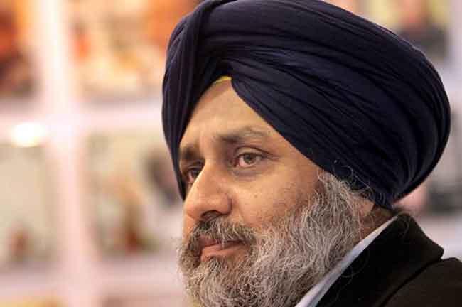Sukhbir Badal Face