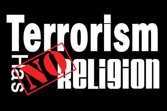 Terrorism has no religion
