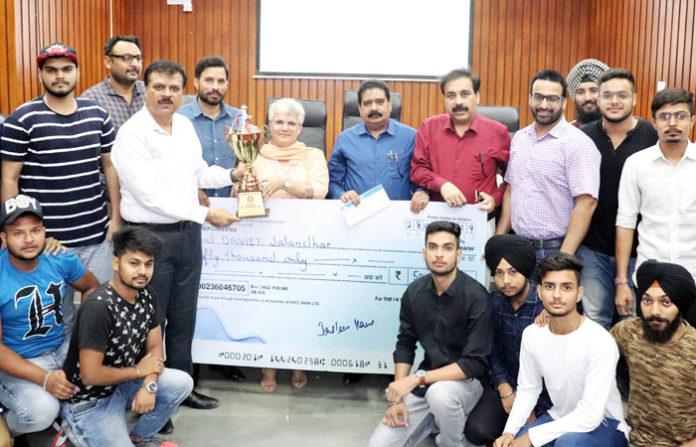 Ajay K Sharma Annual Sports Prize Distribution
